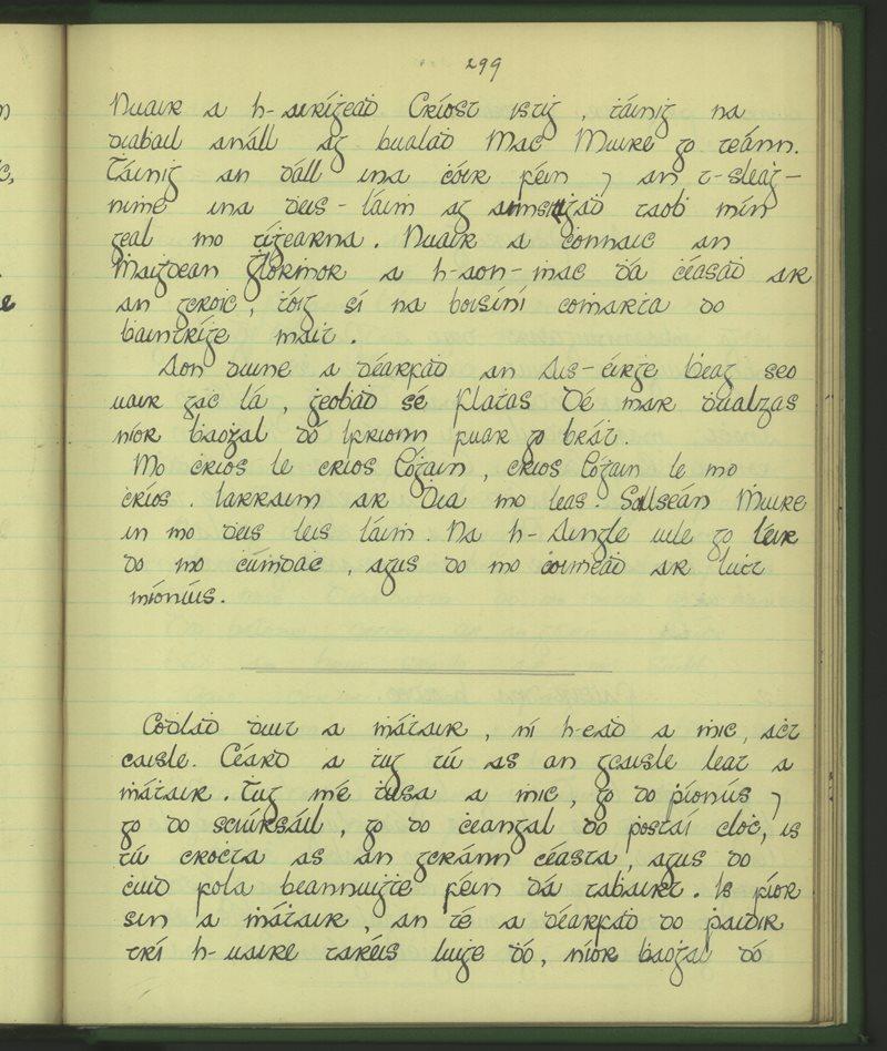 Gleann Mhic Mhuirinn | The Schools' Collection