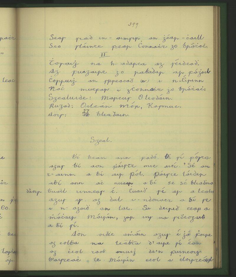 Oileán Iarthach   The Schools' Collection