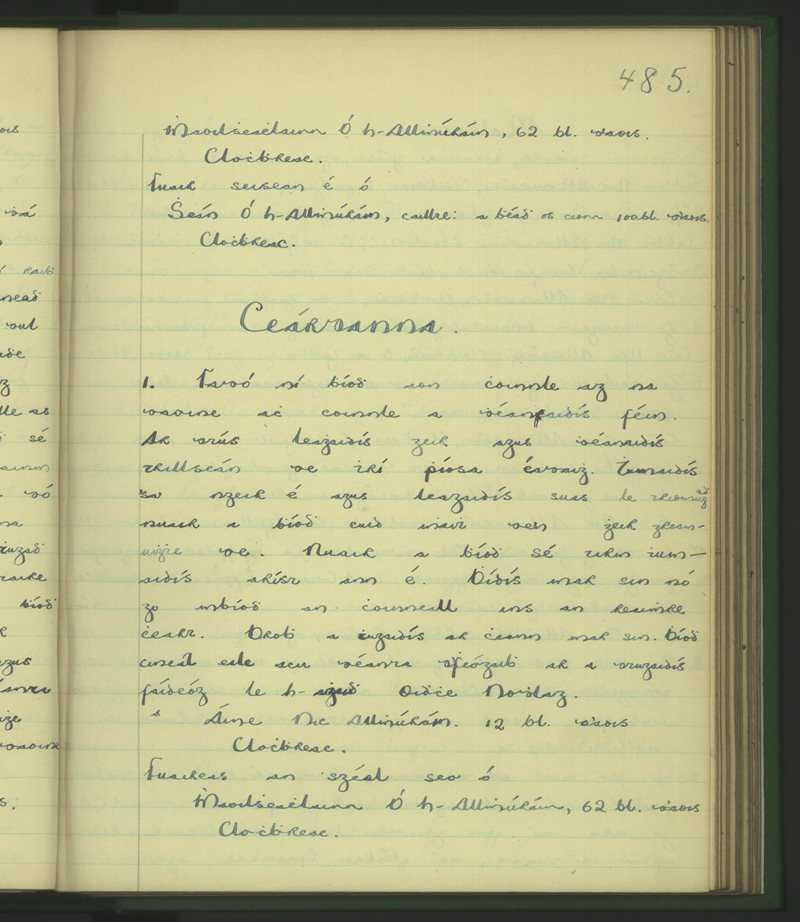 Driseachán   The Schools' Collection