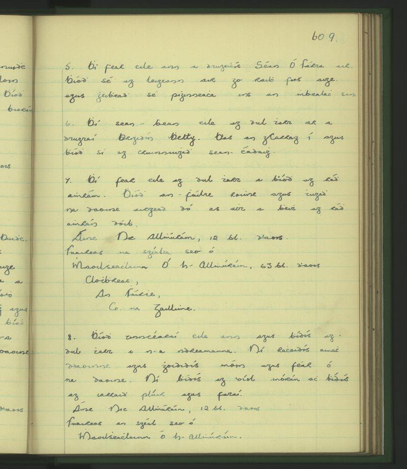 Driseachán | The Schools' Collection