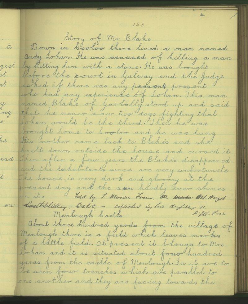 Naomh Ruadhan, Gallach | The Schools' Collection