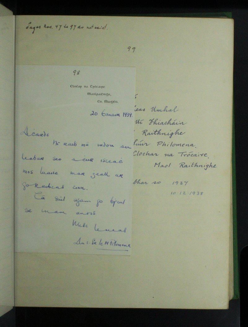 Maol Raithnighe | The Schools' Collection