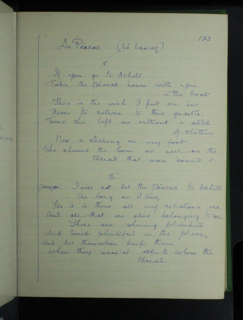 An Phéacach (Bó Bhradaigh)