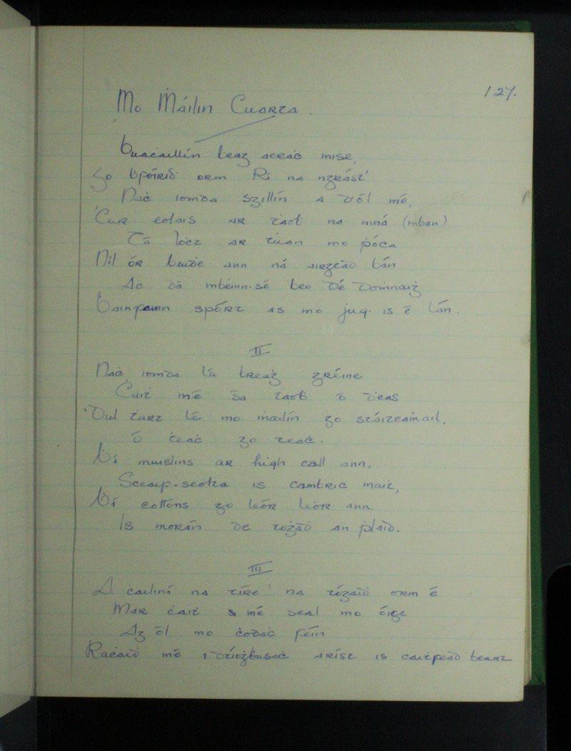 Mo Mháilín Cuarta