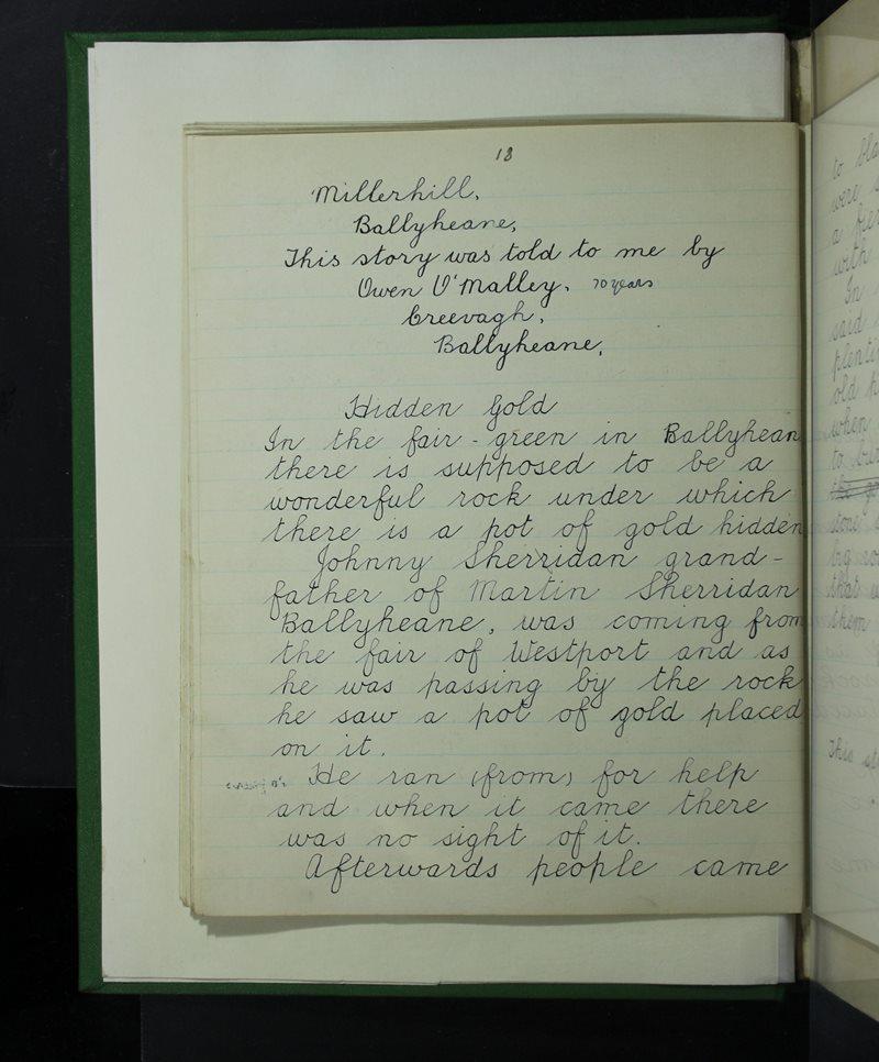 Naomh Muire, Ballyhean | Bailiúchán na Scol