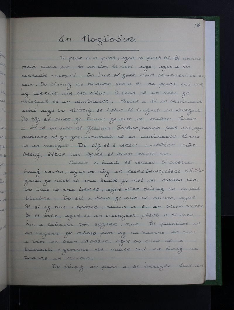 An Nogadóir - Scéal