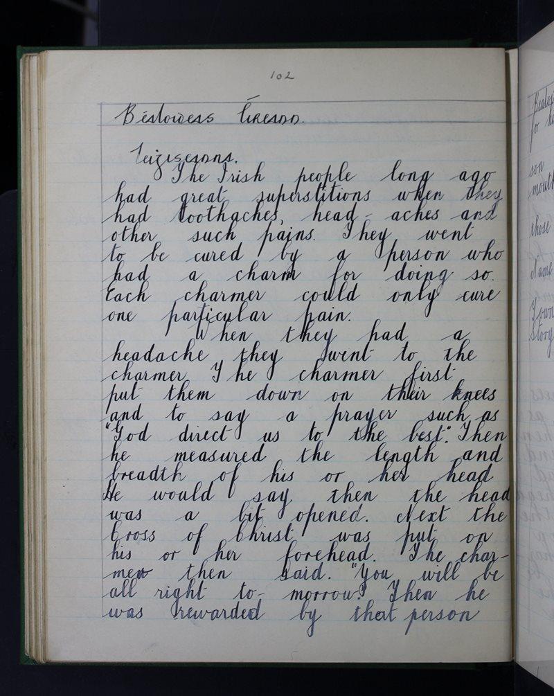 Béaloideas Éireann - Leigheasanna