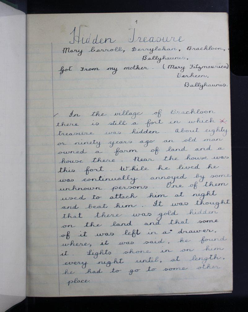 Breac-chluain | The Schools' Collection