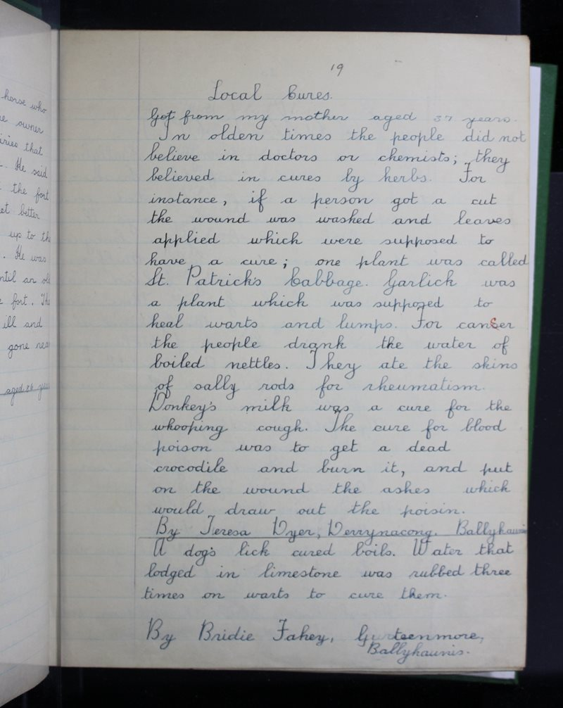 Breac-chluain   The Schools' Collection