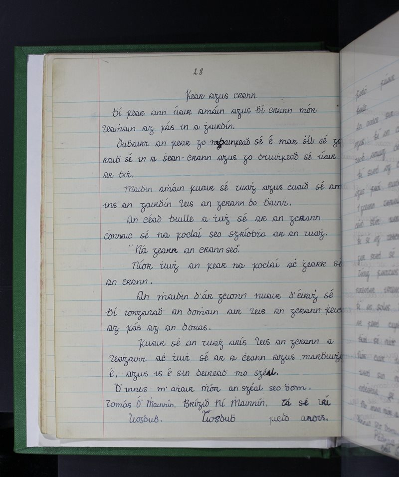 Log Buidhe | The Schools' Collection