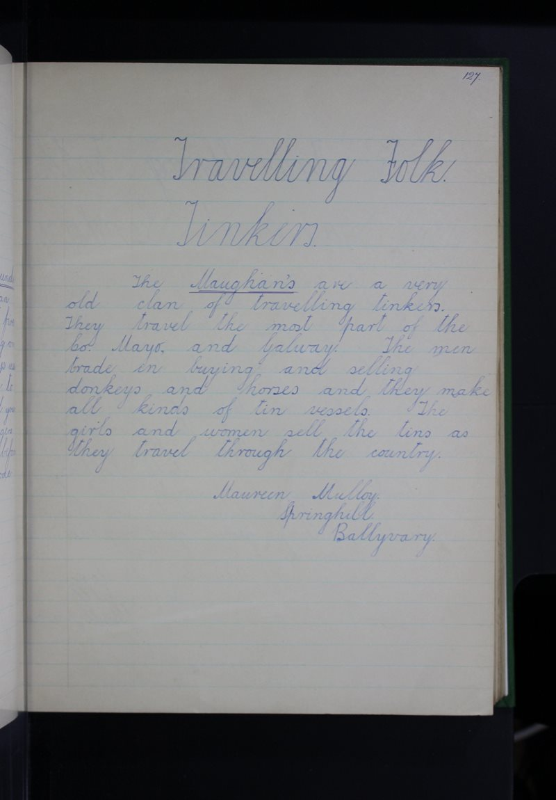 Travelling Folk - Tinkers