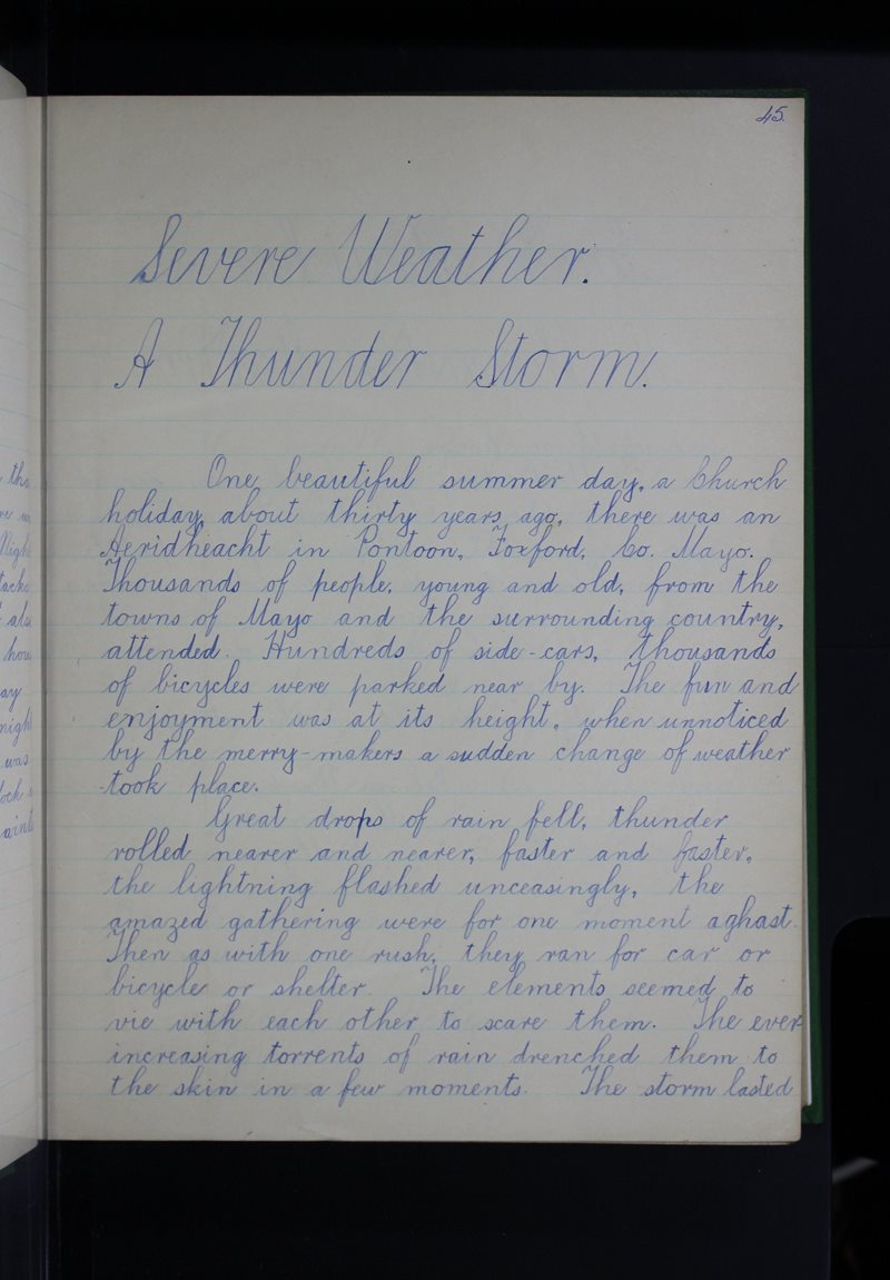 Severe Weather - A Thunder-Storm