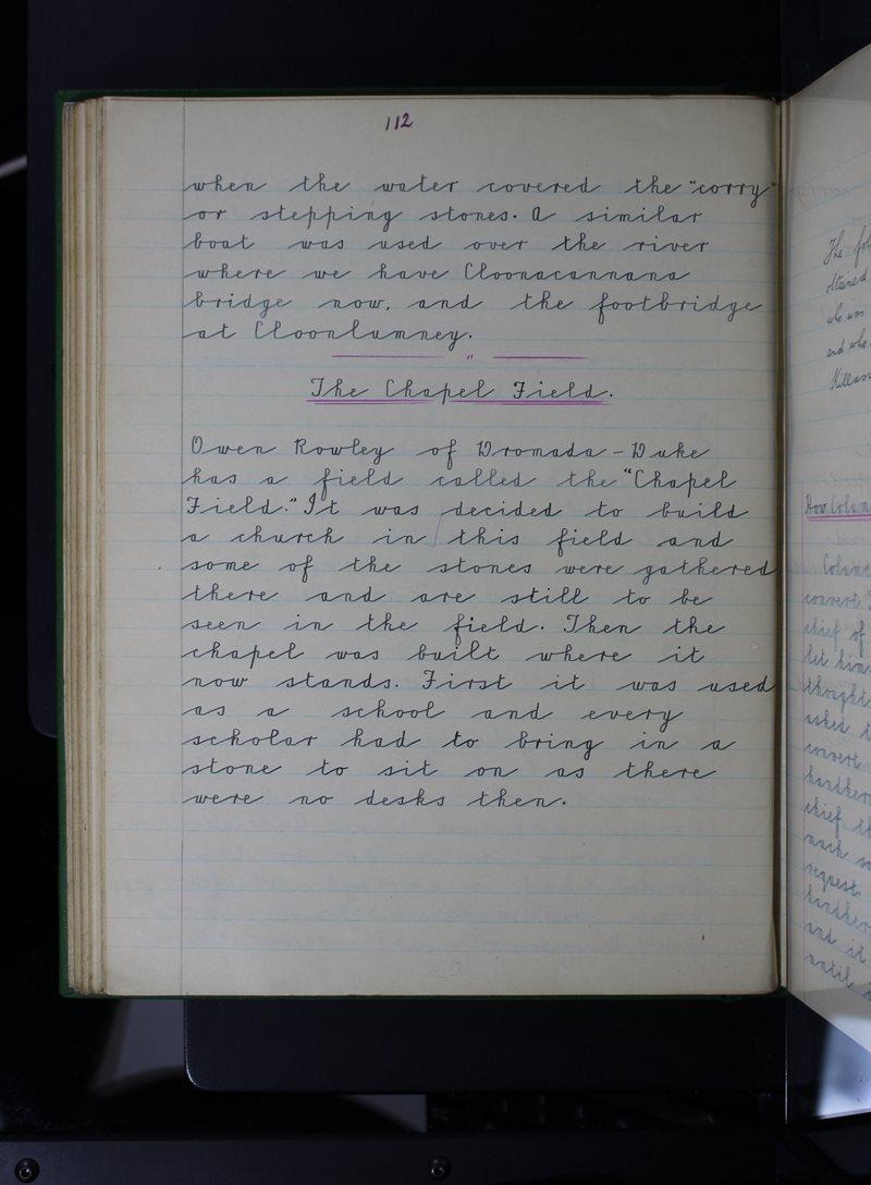 N. Seosamh, Cill Lasrach   The Schools' Collection