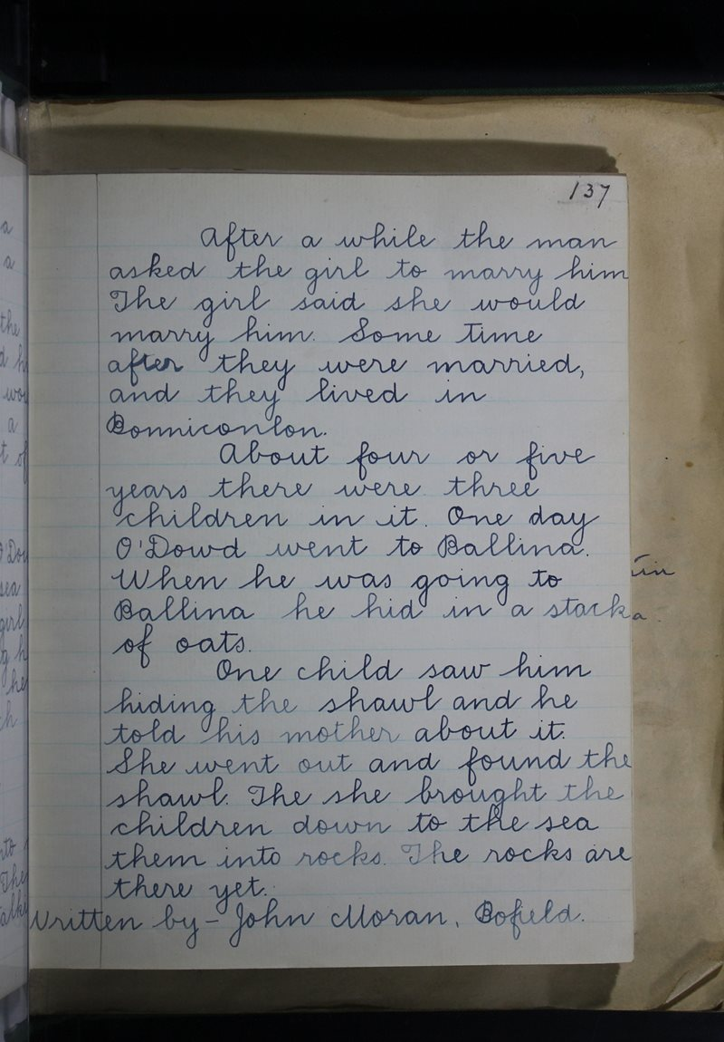 Gort na mBó | The Schools' Collection