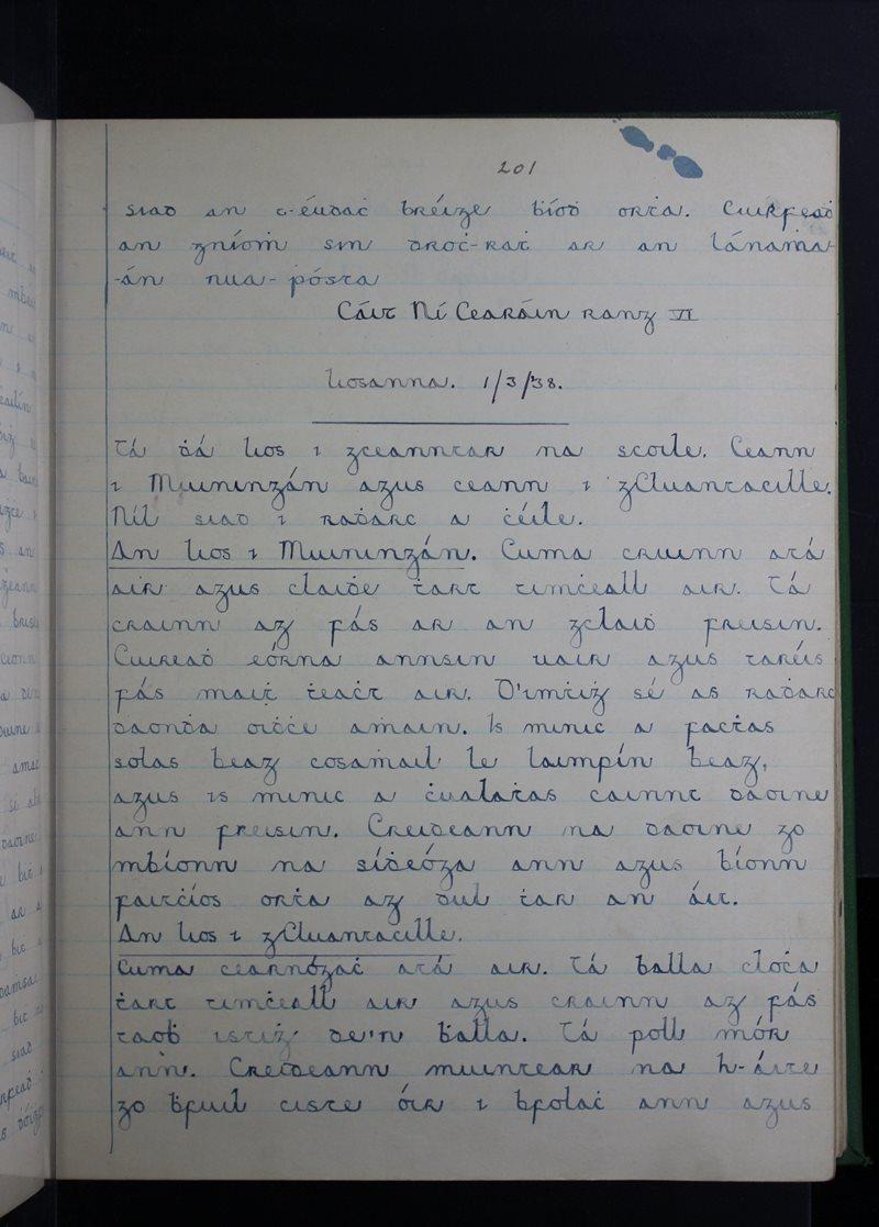 Gleann Cuileann   Bailiúchán na Scol