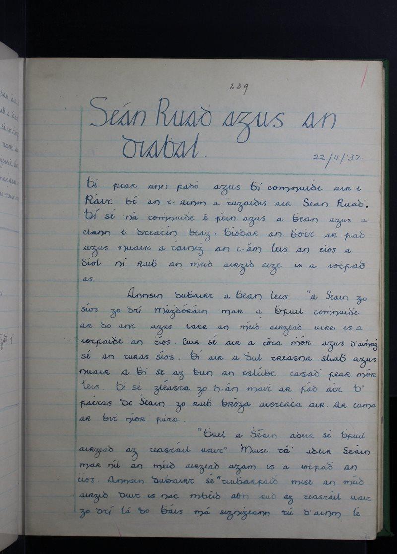 Seán Rua agus Diabhal