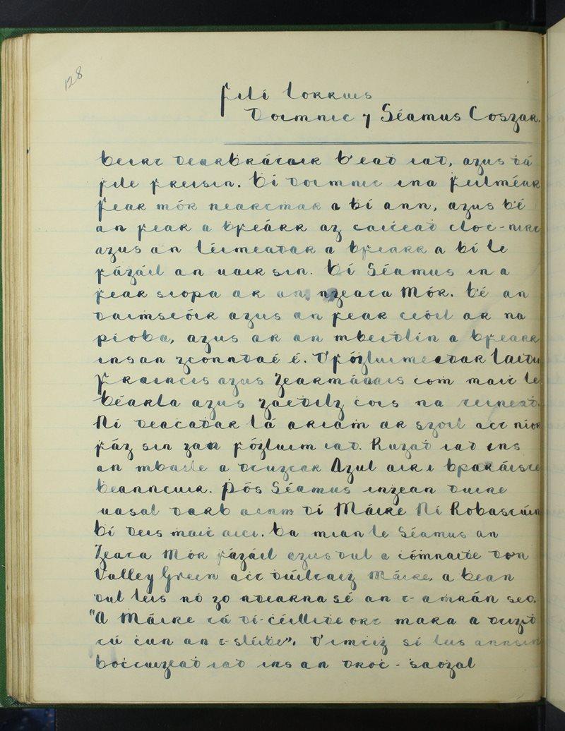 Filí Iorrais - Doimnic agus Séamus Cosgar