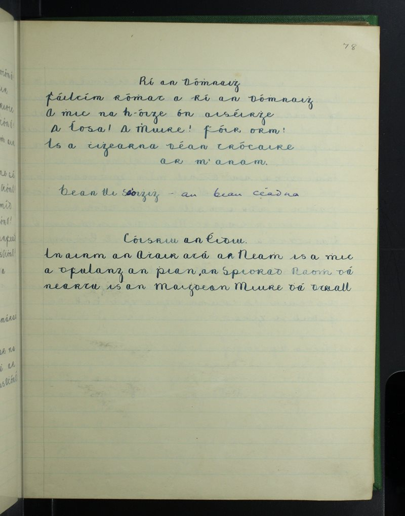 Eachléim | The Schools' Collection