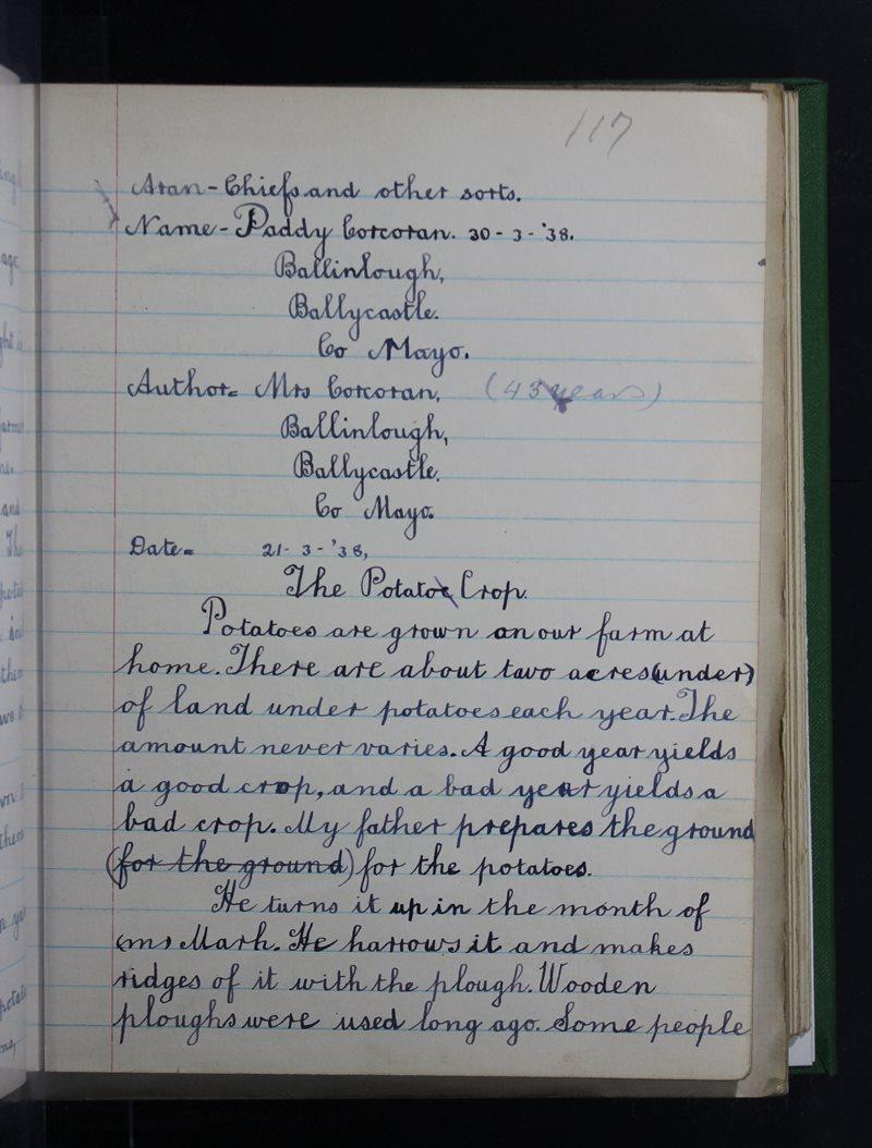 Ballycastle Boys' | The Schools' Collection