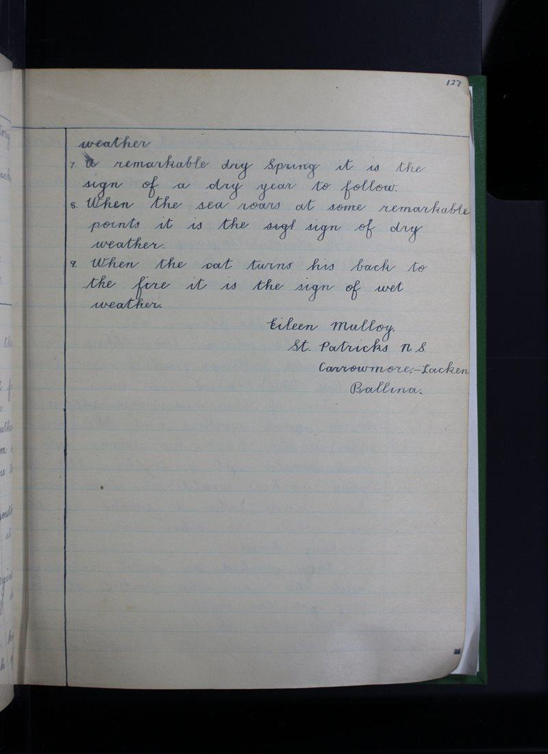 An Cheathrú Mhór   The Schools' Collection