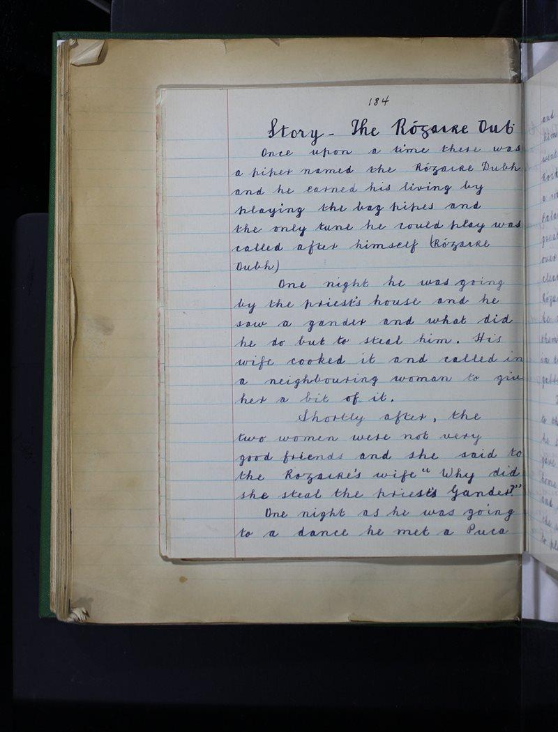 Story - The Rógaire Dubh