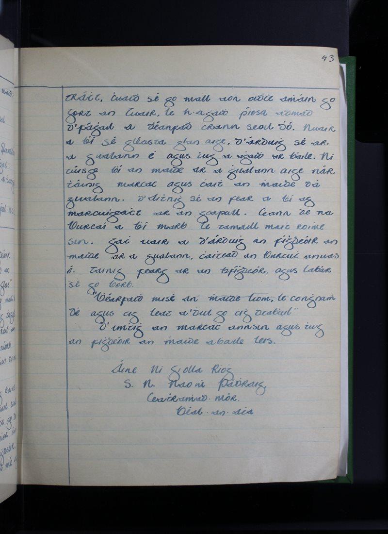 An Cheathrú Mhór | The Schools' Collection