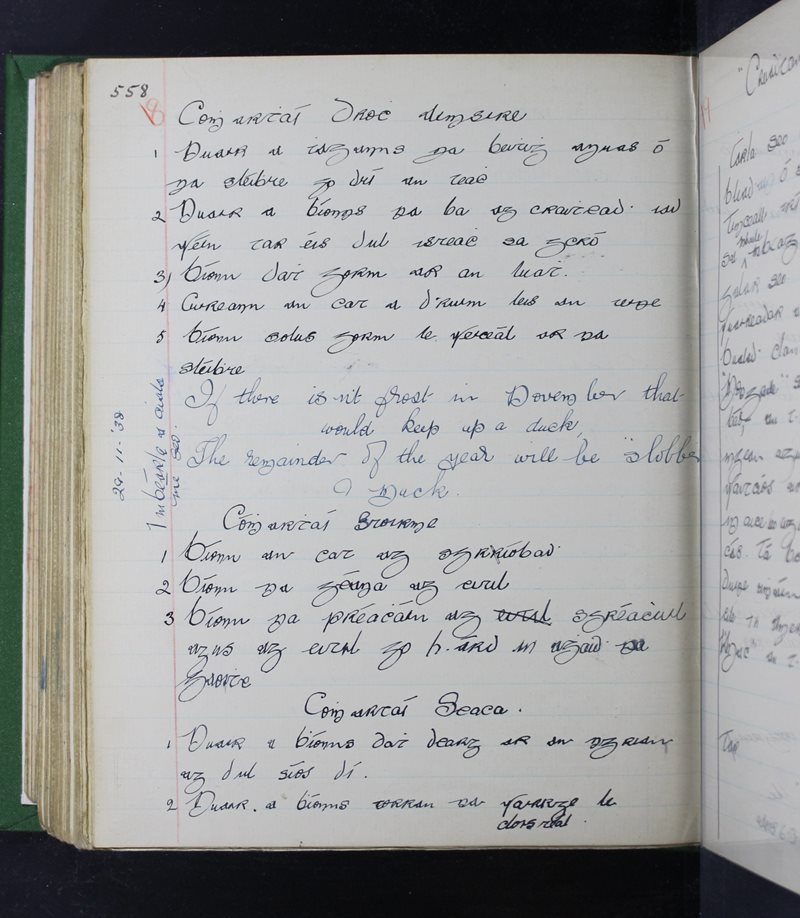 Cnoc na Caillighe | The Schools' Collection