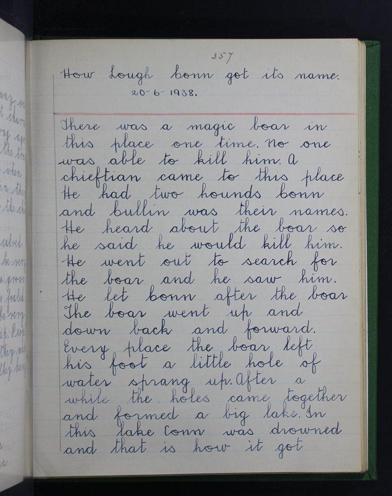 How Lough Conn Got Its Name