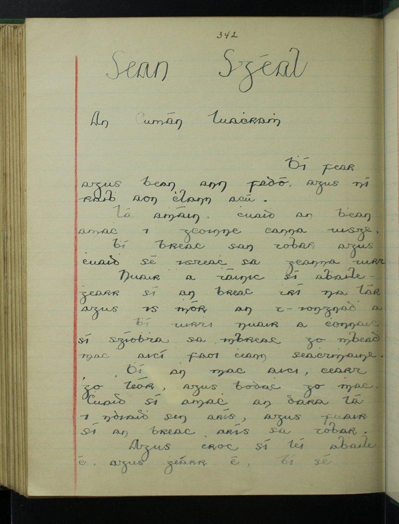 Seanscéal - An Cumán Luathramh