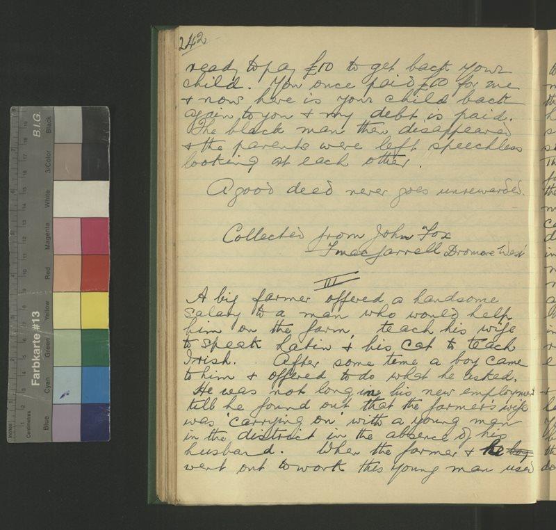 Druim Mór | The Schools' Collection