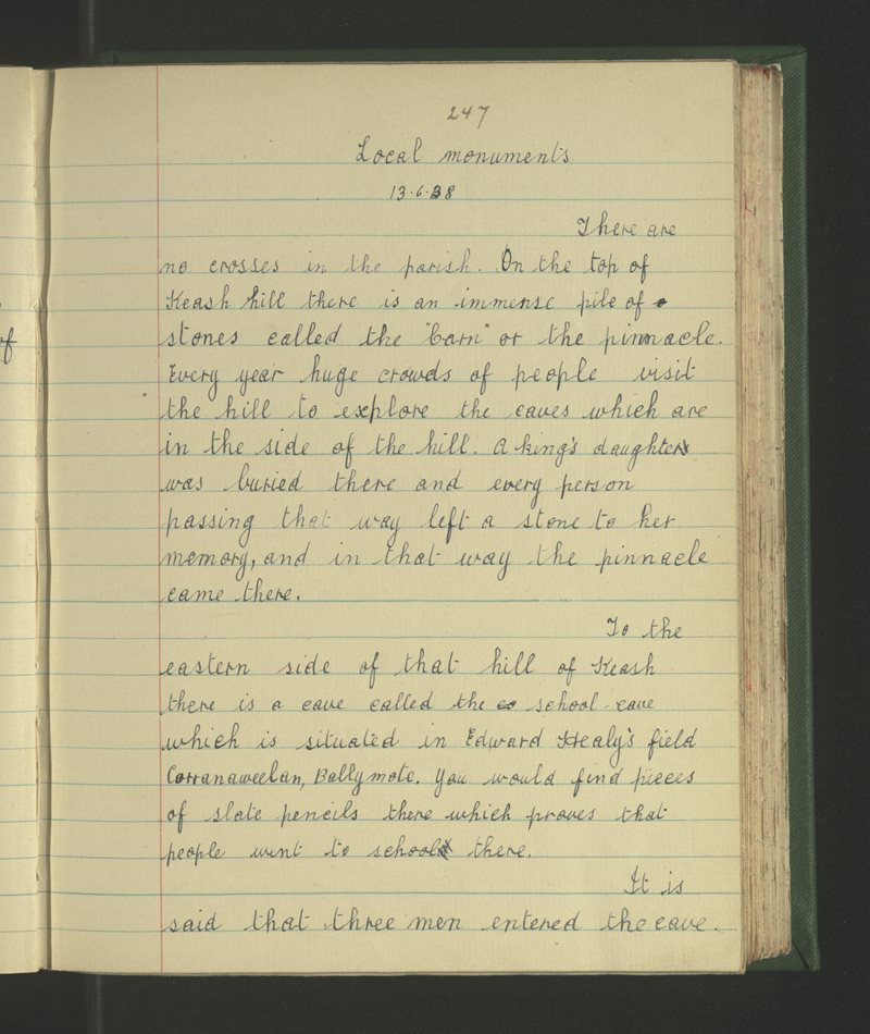 Drom na Gráinsighe | The Schools' Collection