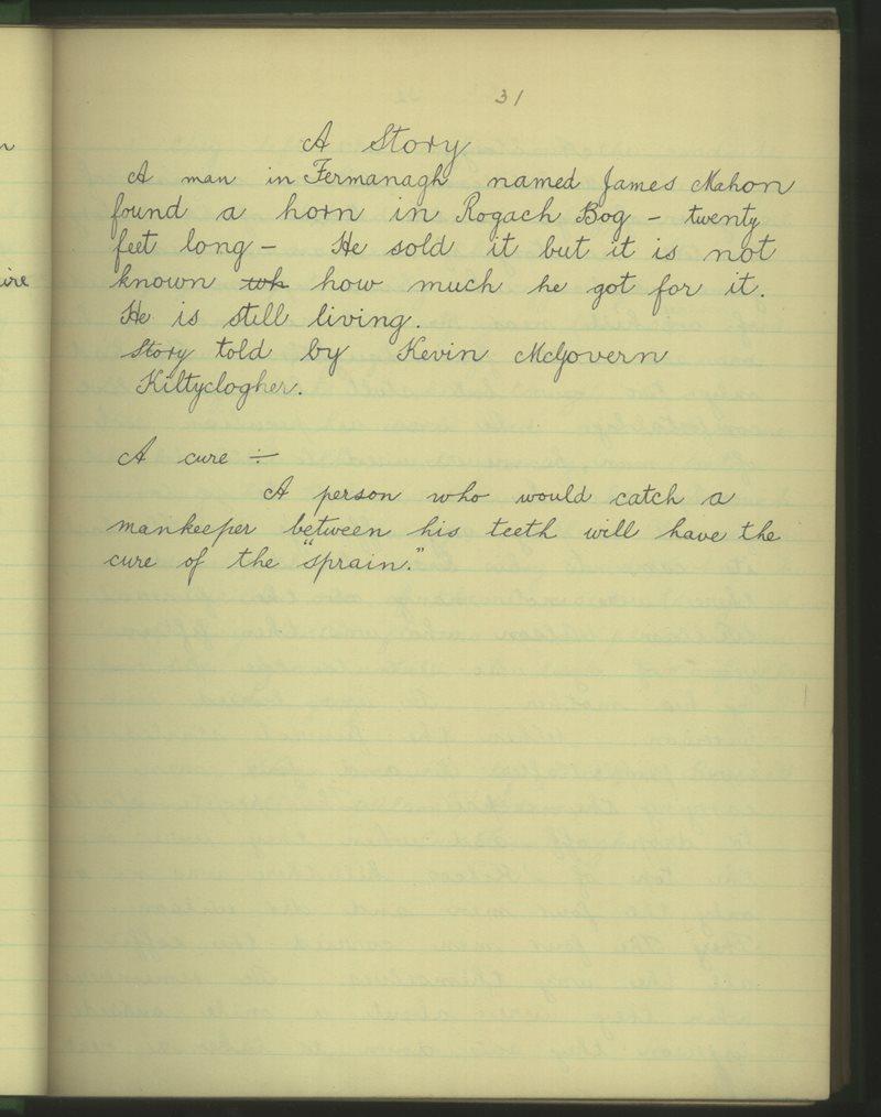 Coillte Clochair (B.) | The Schools' Collection