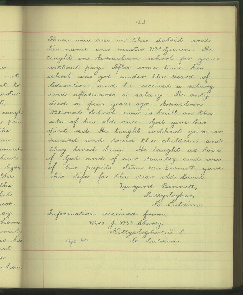 Coillte Clochair (C.) | The Schools' Collection