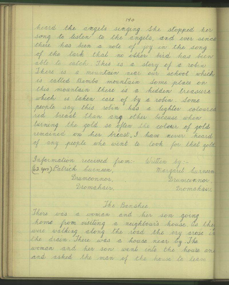 Ardvarney | The Schools' Collection