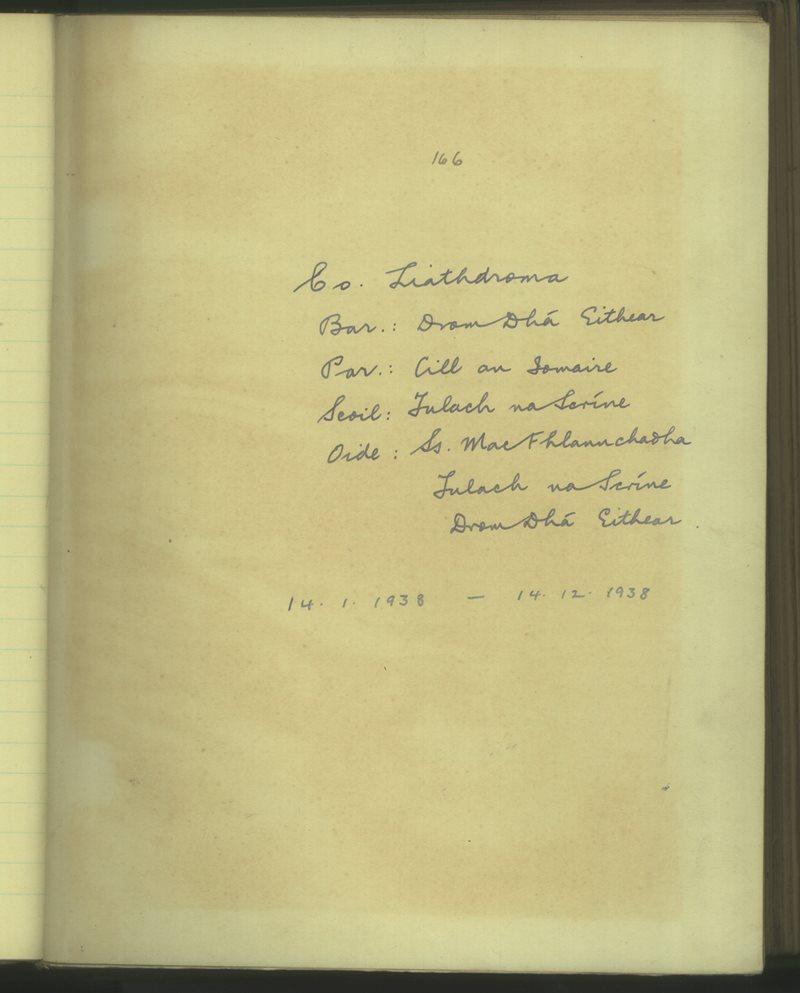Tulach na Scríne | The Schools' Collection