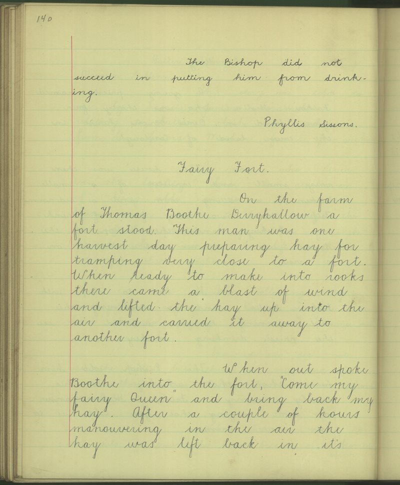 Drumshanbo (C.) | The Schools' Collection