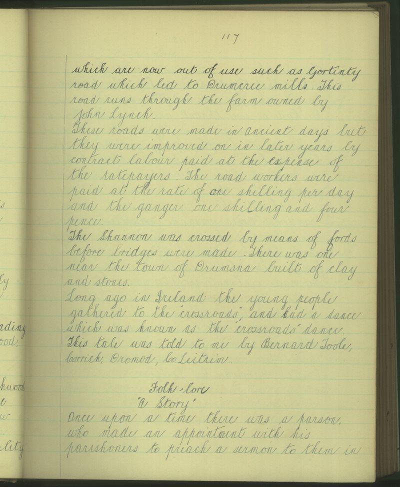 Eanach Dubh (B.) | The Schools' Collection