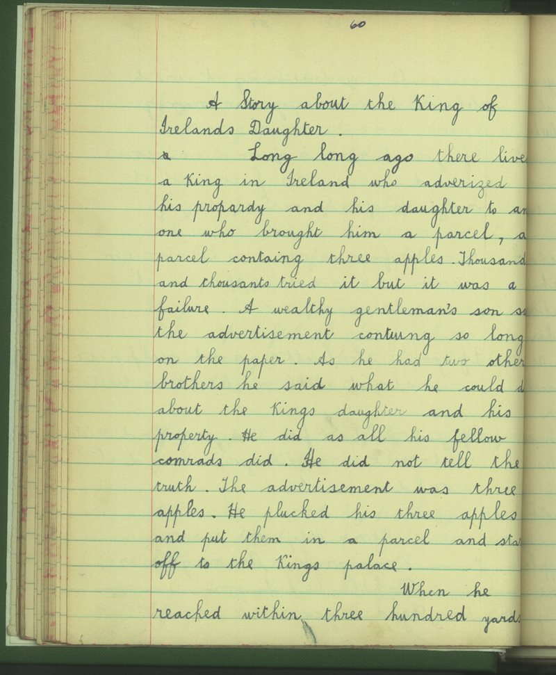 A Story about the King of Ireland's Daughter