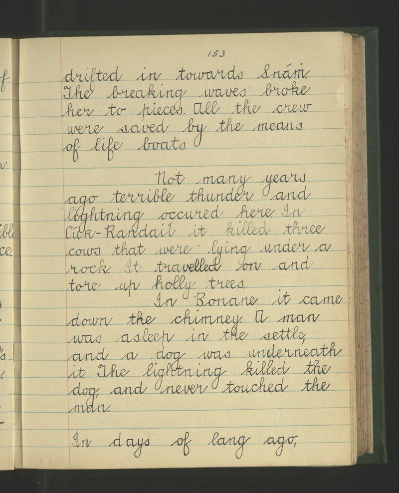 An Gleann Garbh | The Schools' Collection
