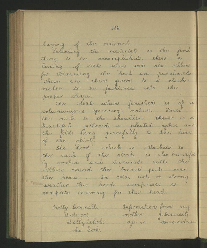 Corrovally, Achadh Dúin, An Sciobairín | Bailiúchán na Scol