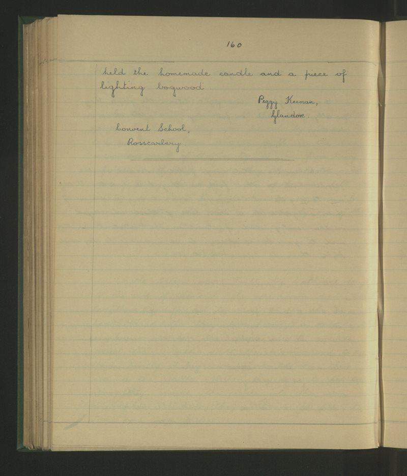 Clochar na Trócaire, Ros Ó gCairbre | The Schools' Collection