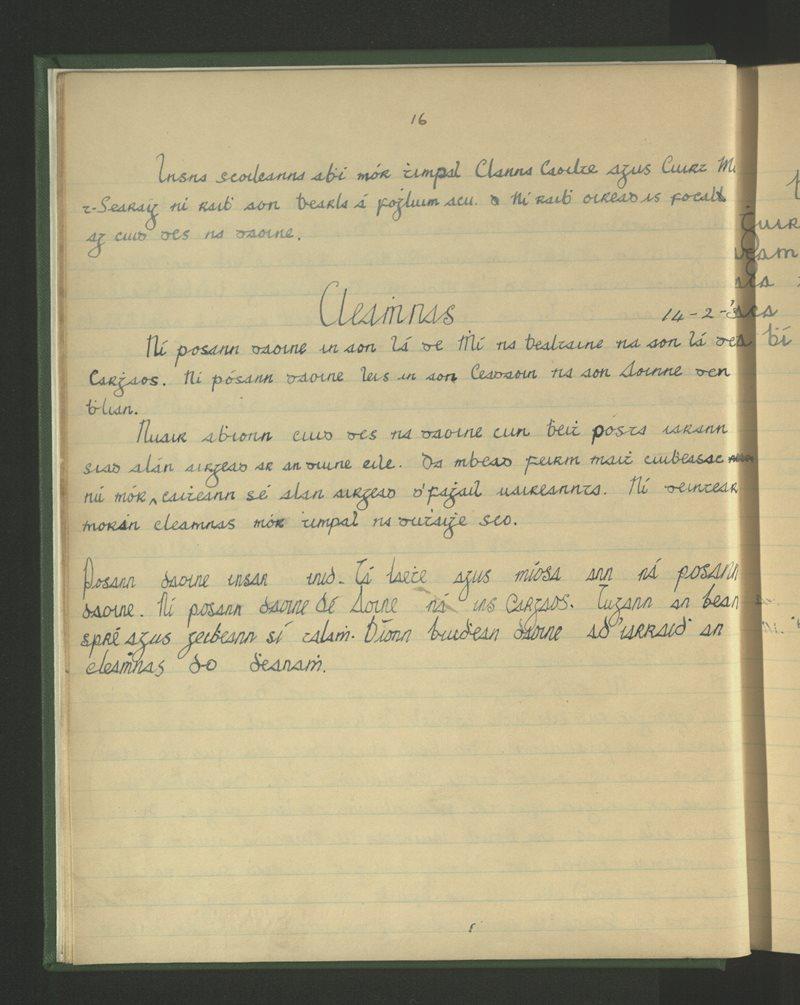 Gurrán Easaigh   The Schools' Collection