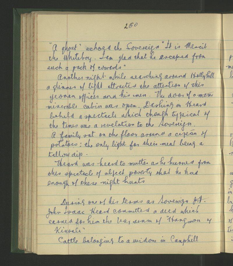 Presentation Monaster, Ceann tSáile | The Schools' Collection
