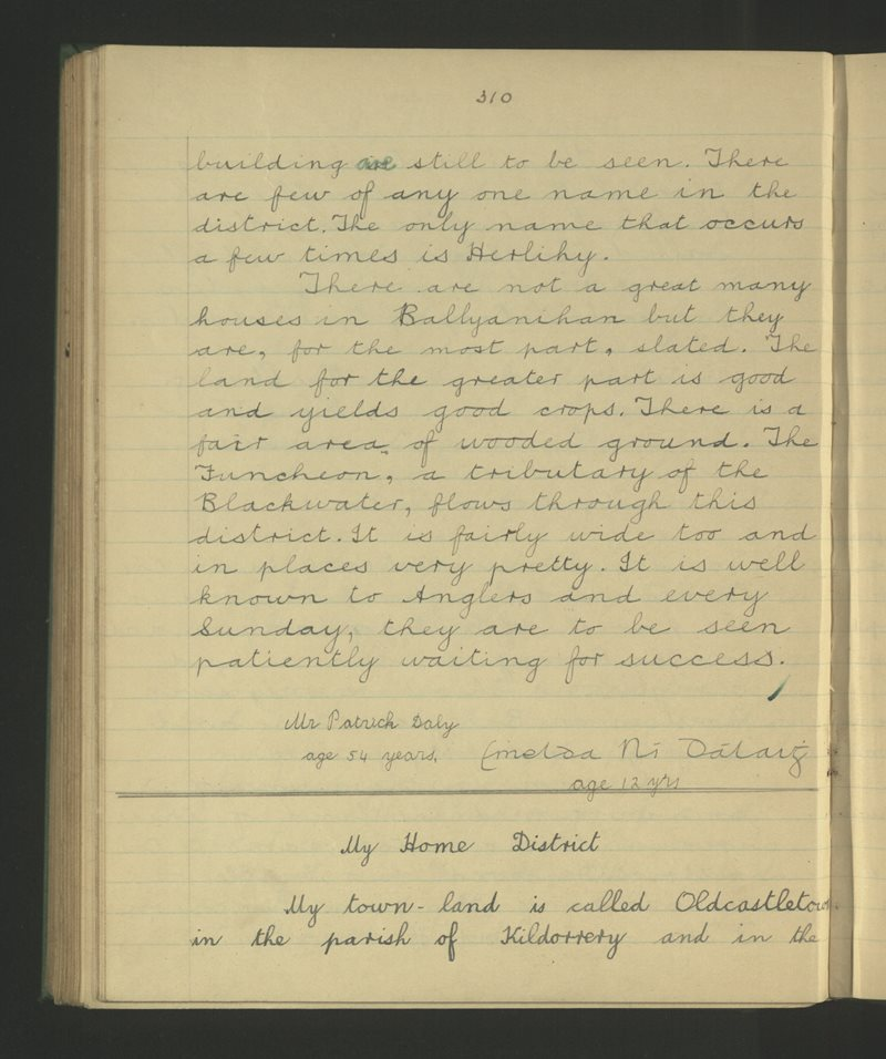 Scairt (C.), Cill Dairbhe | The Schools' Collection