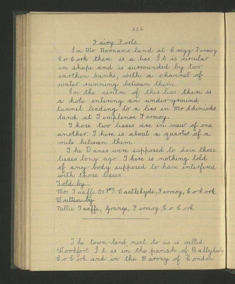 An Ghráinseach, Mainistir Fhearmuighe   The Schools' Collection
