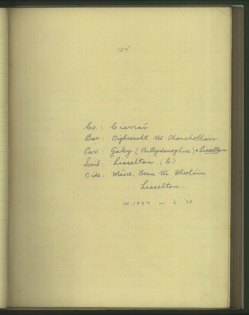 Lisselton (C.)   Bailiúchán na Scol
