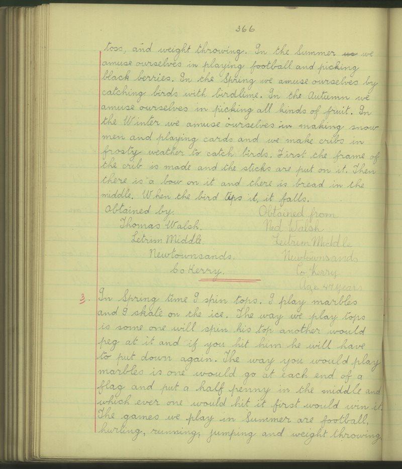 Na Tearmoinn (B.) | The Schools' Collection