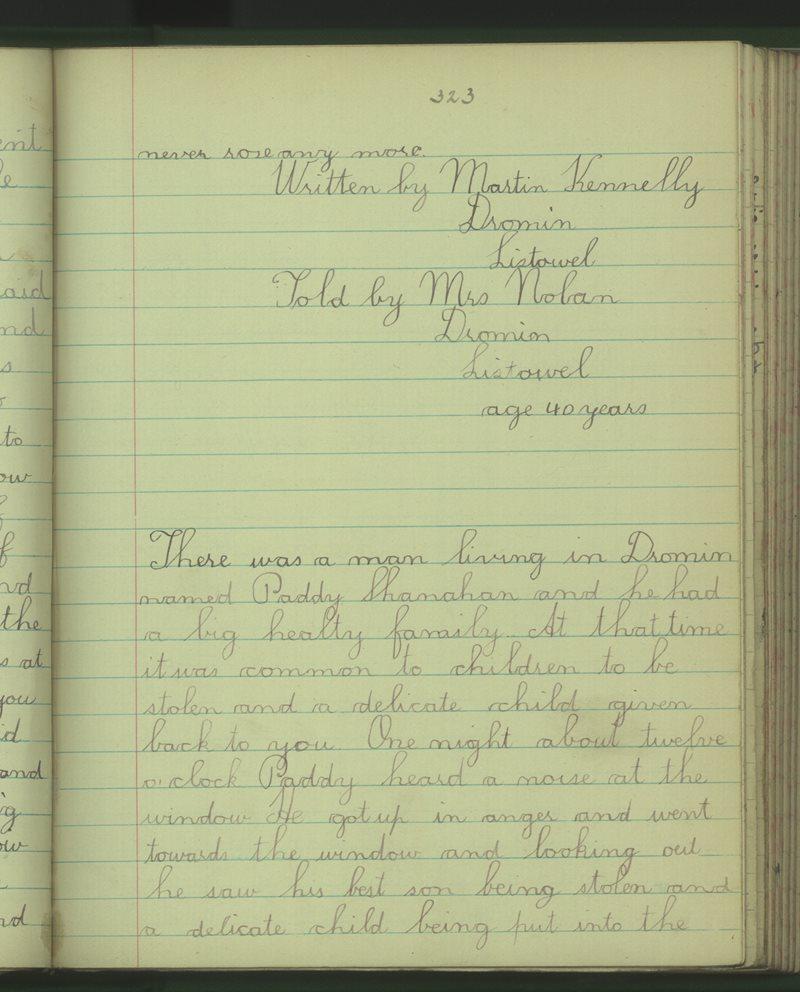 Cluain Meacan | The Schools' Collection