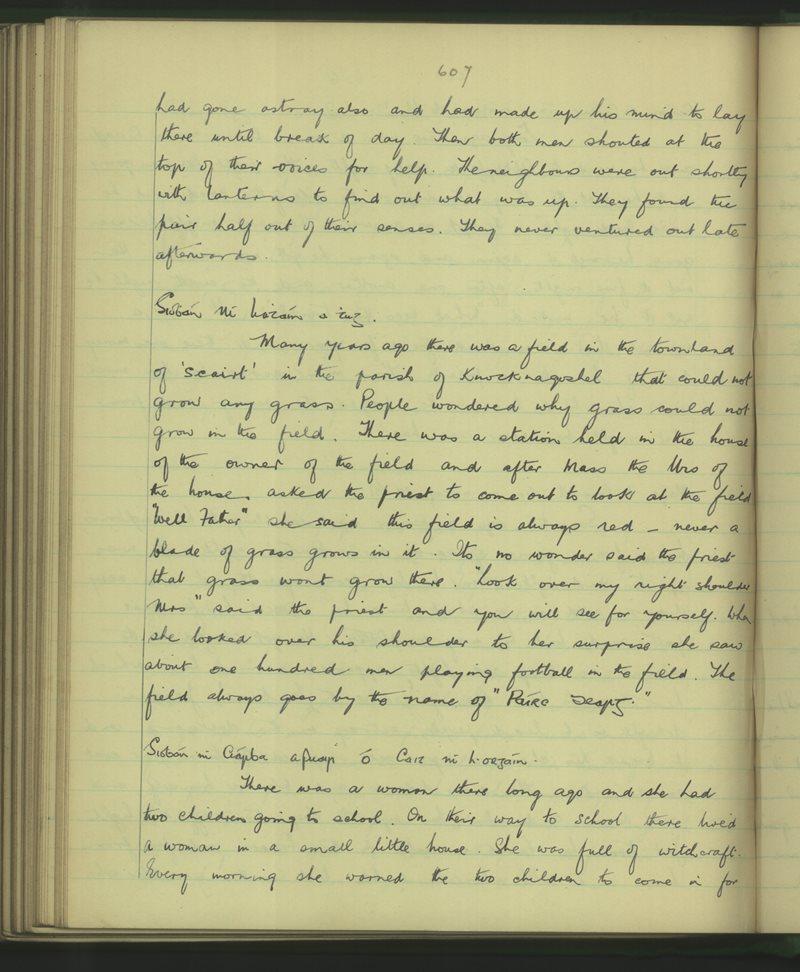 Dromlogach Mainistir na Féile | The Schools' Collection
