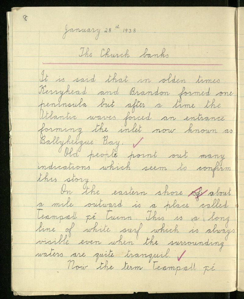 Gleann Doire (C.) | The Schools' Collection